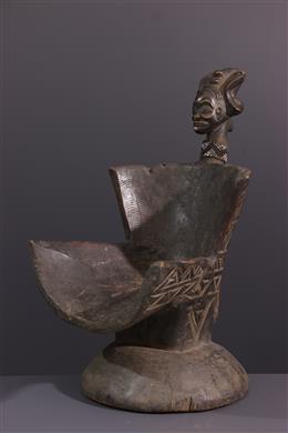 Art tribal - Siège Tchokwe