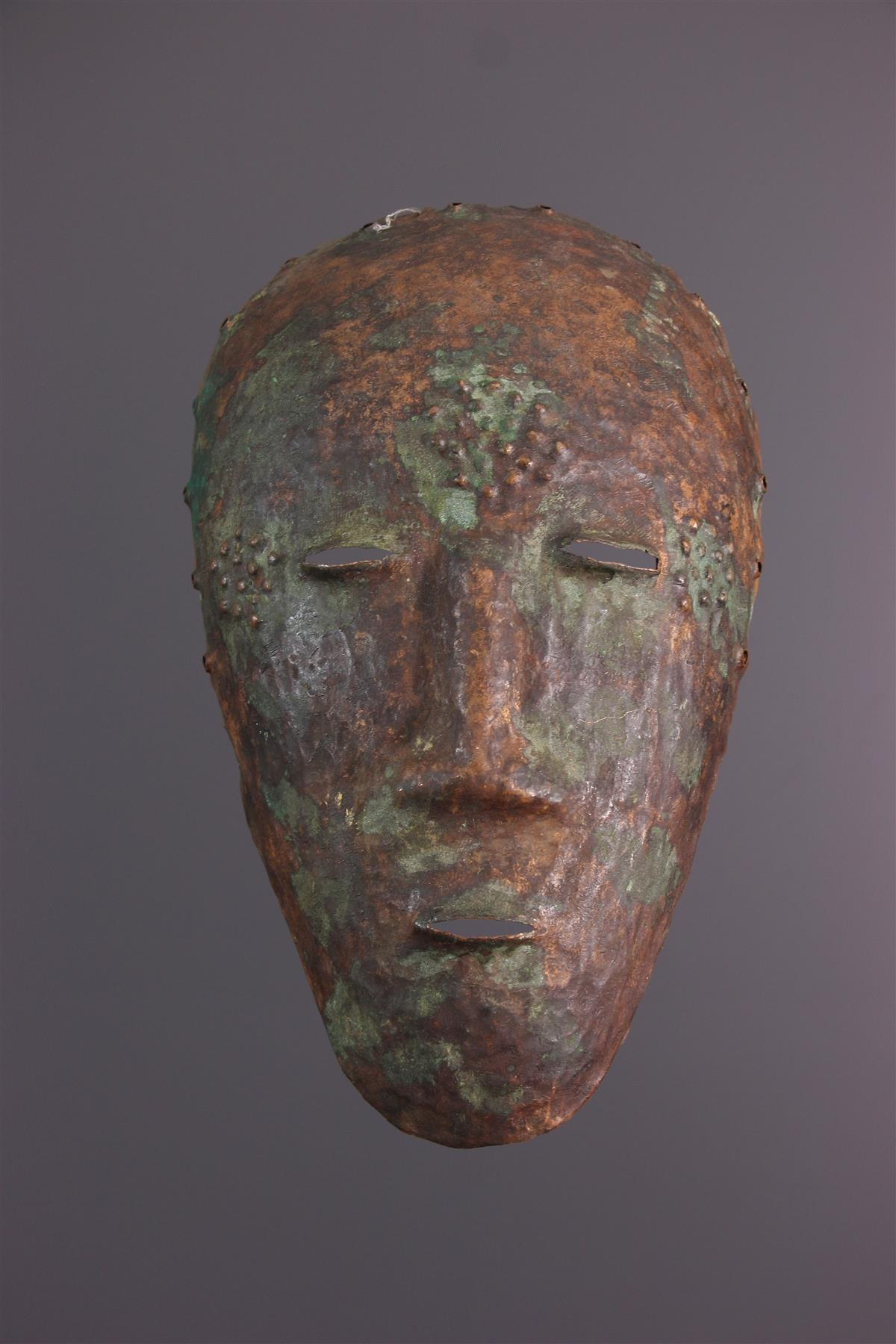 Masque Ding - Art tribal