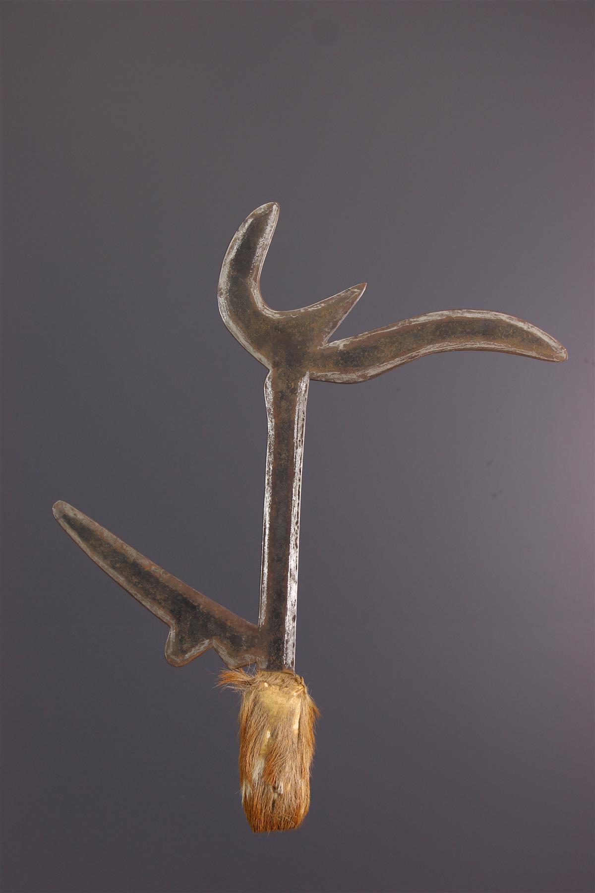 Arme Zande - Art tribal