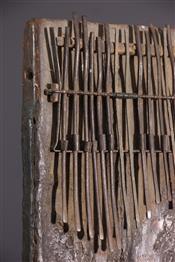 Instruments de musique, harpes, djembe Tam TamSanza Kongo