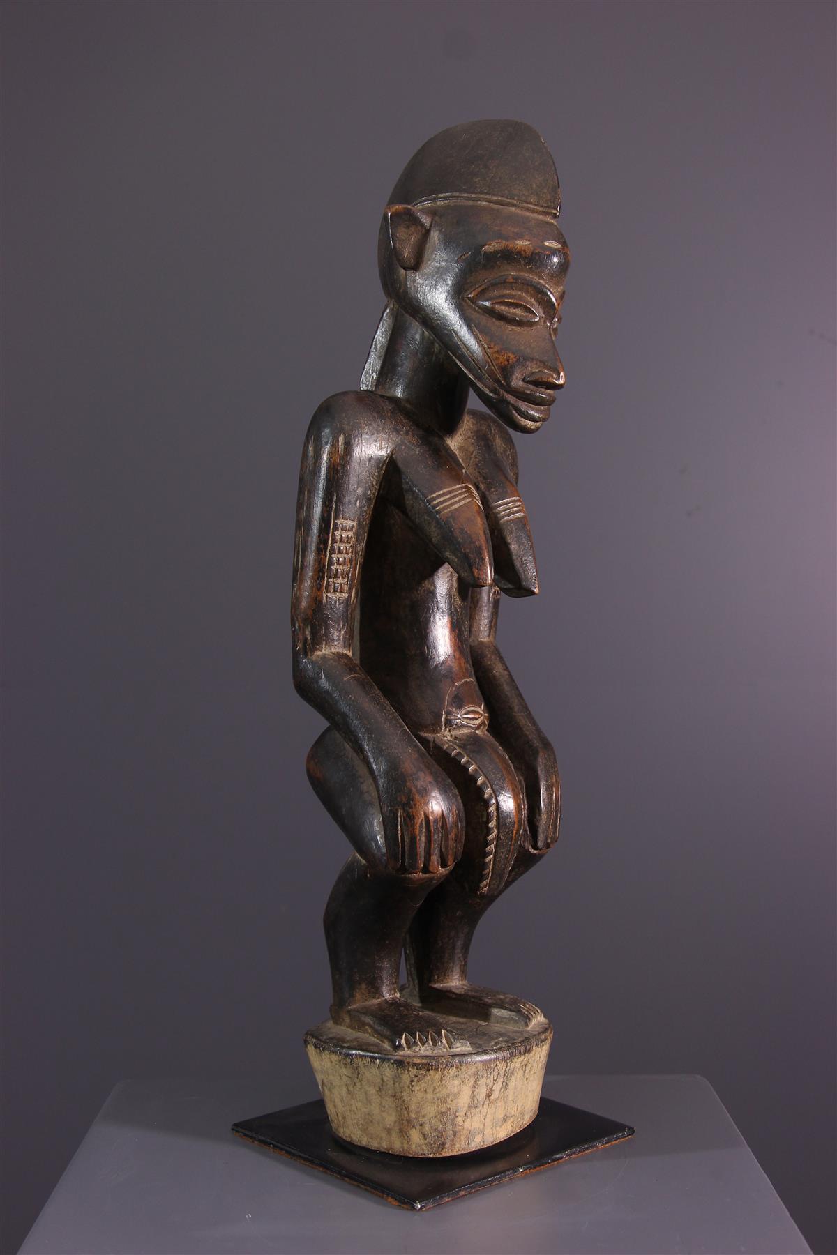 Statuette féminine Senoufo - Art tribal