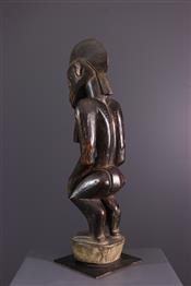 Statues africainesStatuette féminine Senoufo