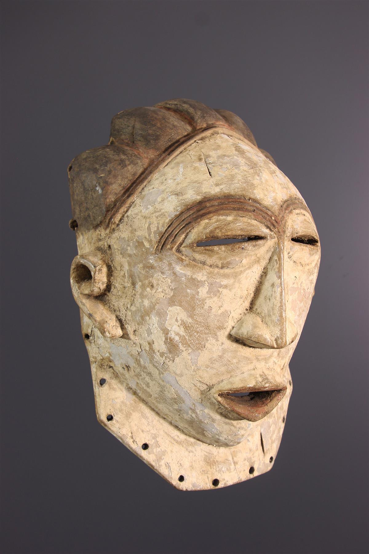 Masque Luba - Art tribal