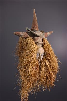 Art tribal - Masque Yaka n-kisyan-khanda