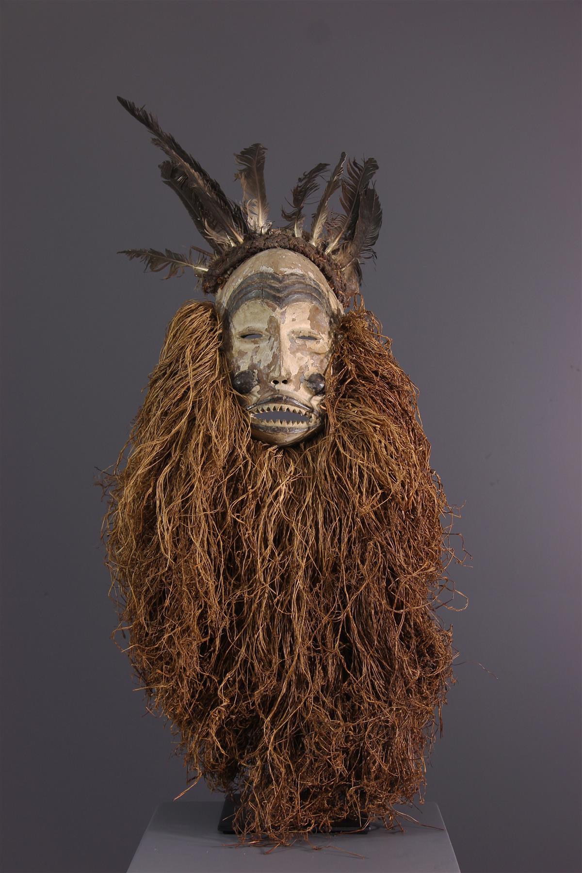 Masque Mbunda - Art tribal