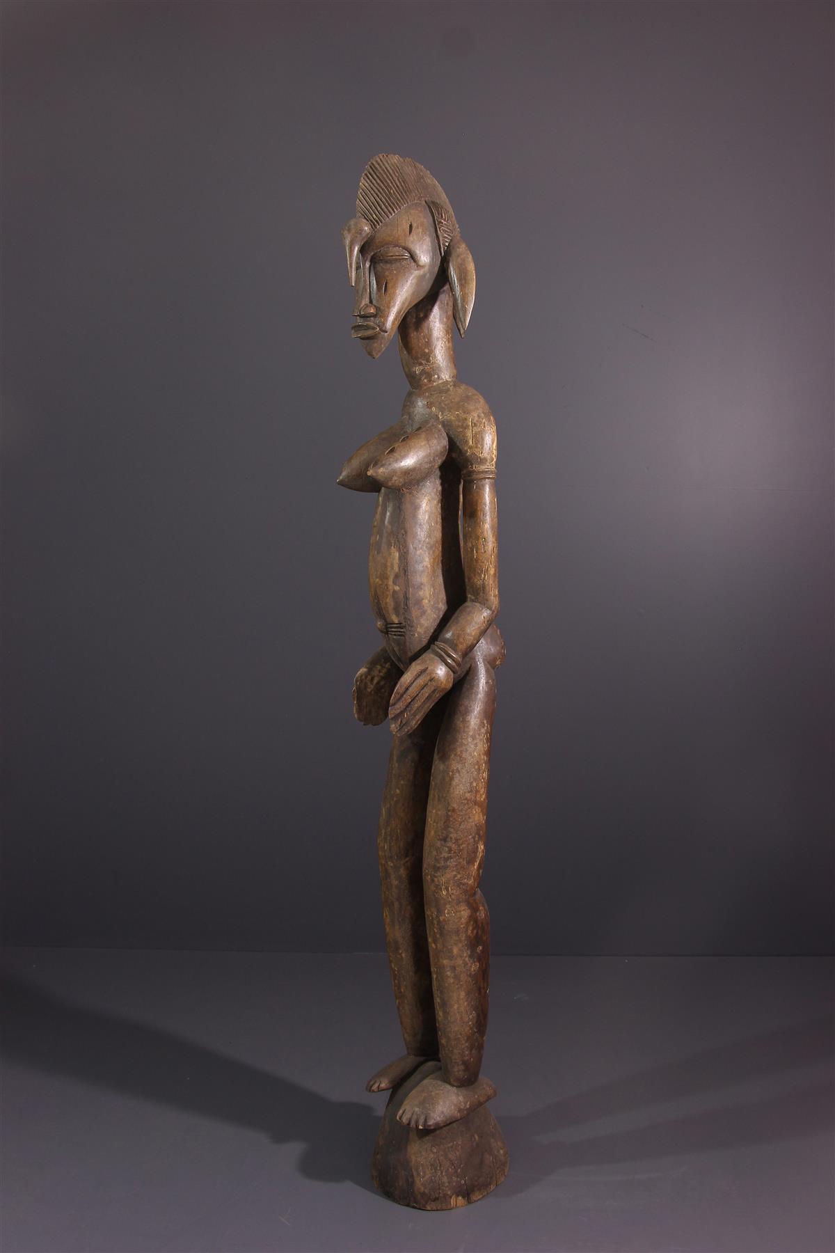 Statue Senoufo - Art tribal