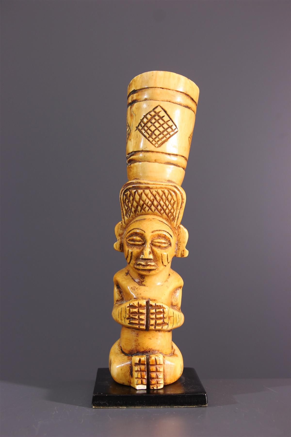 Tabatière Tschokwe - Art tribal