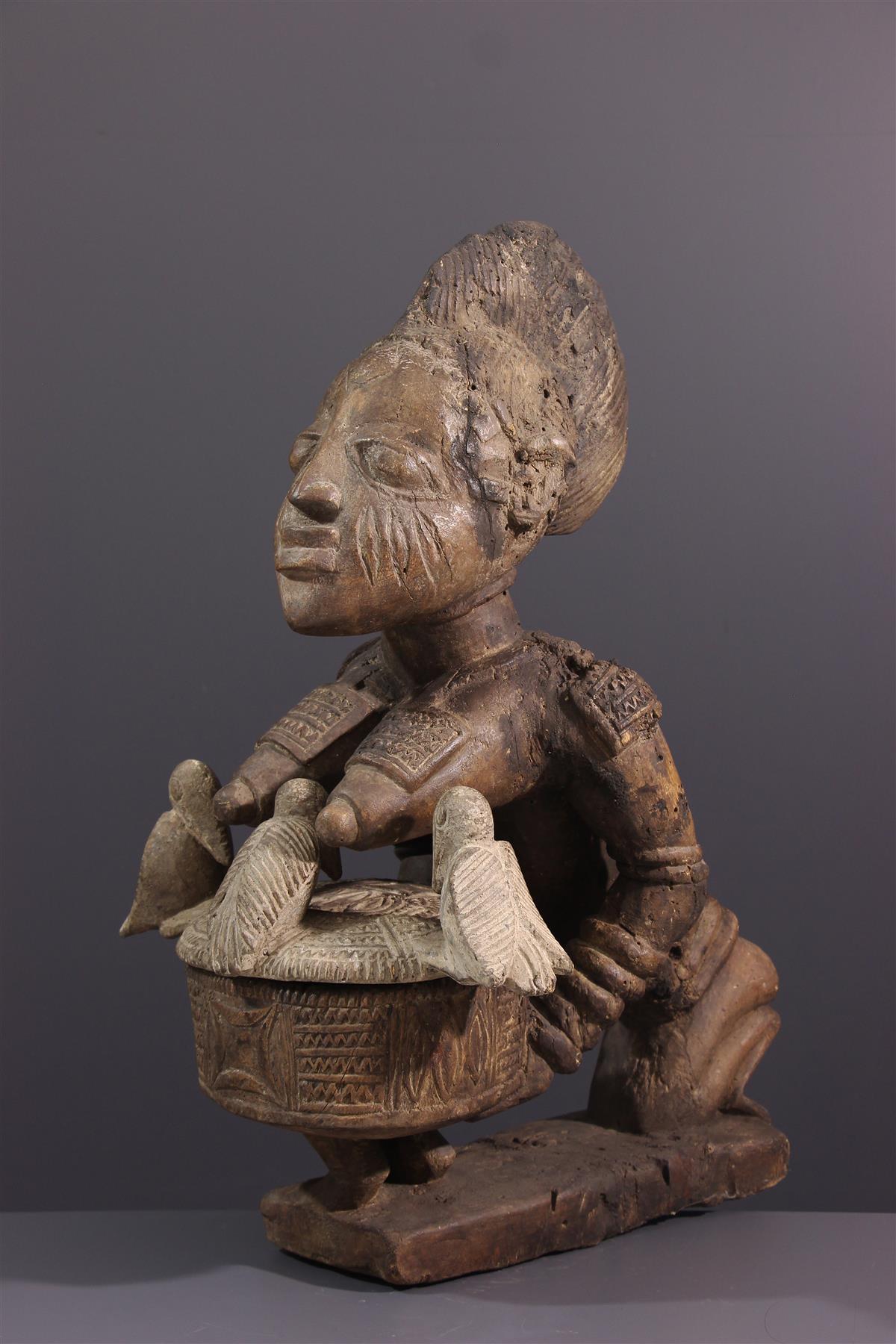 Coupe Yoruba - Art tribal