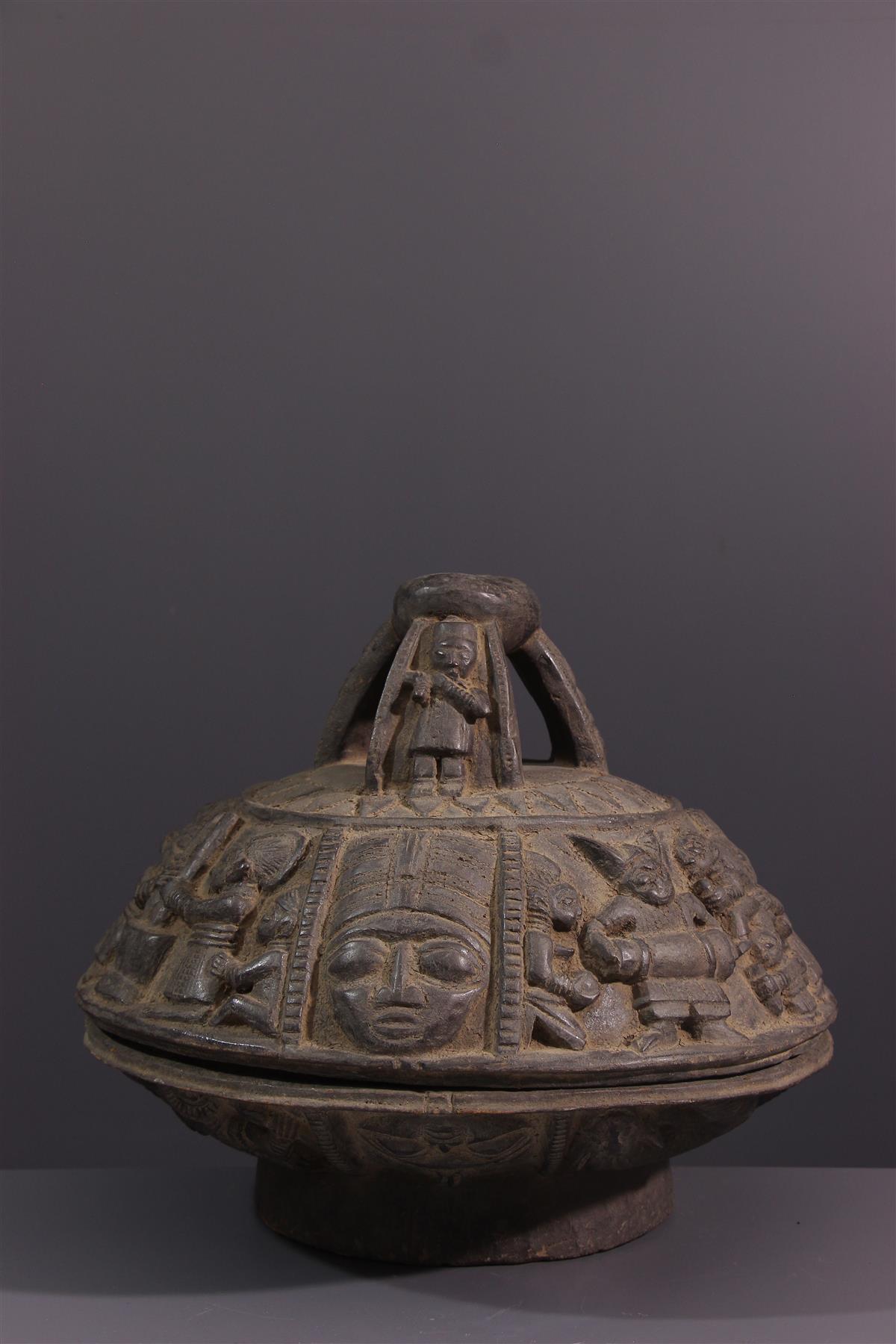 Coupe Ifa - Art tribal