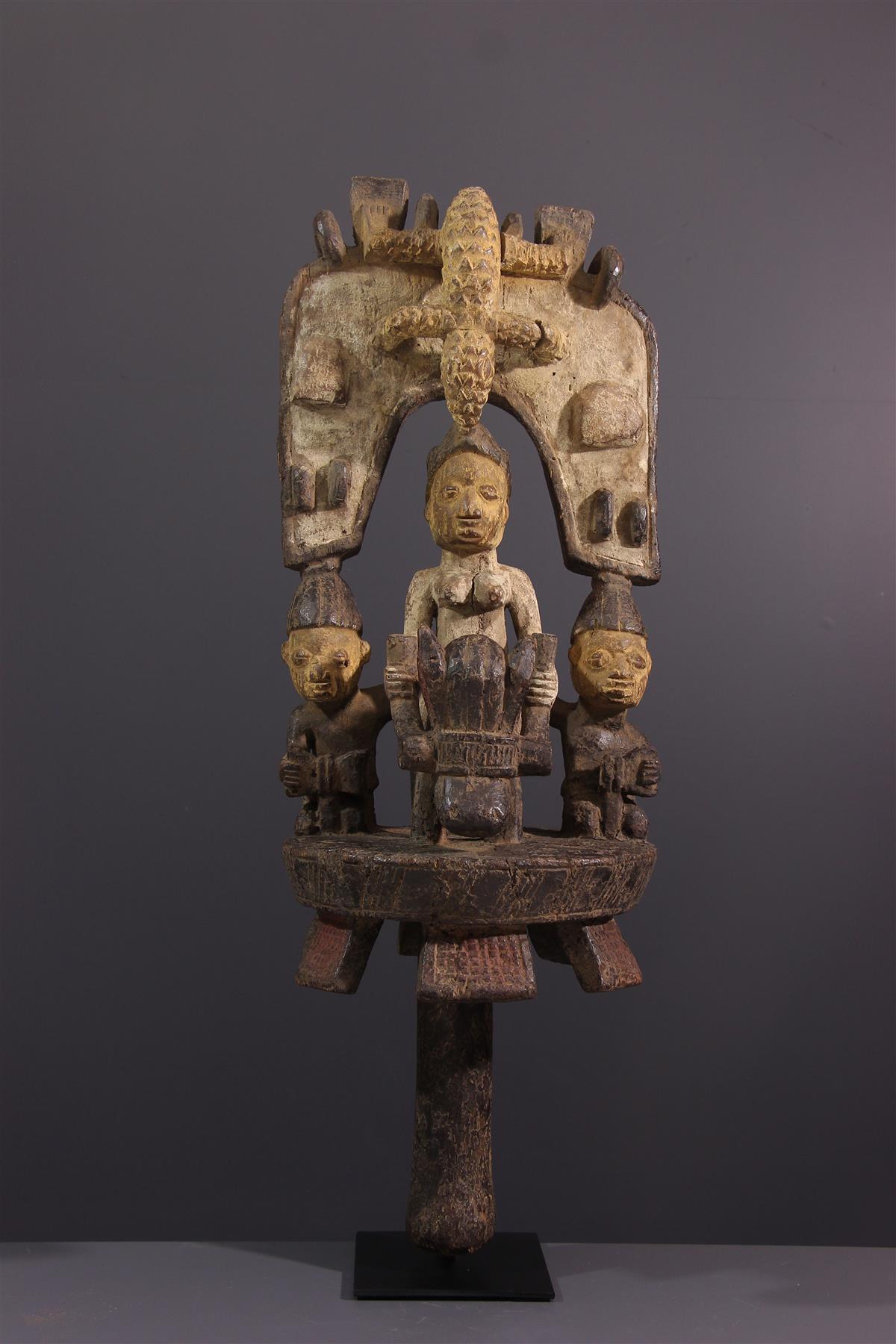 Cavalier Yoruba - Art tribal