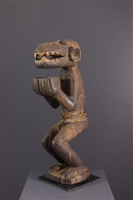 Art tribal - Figure de singe Baule Aboya / Mbotumbo