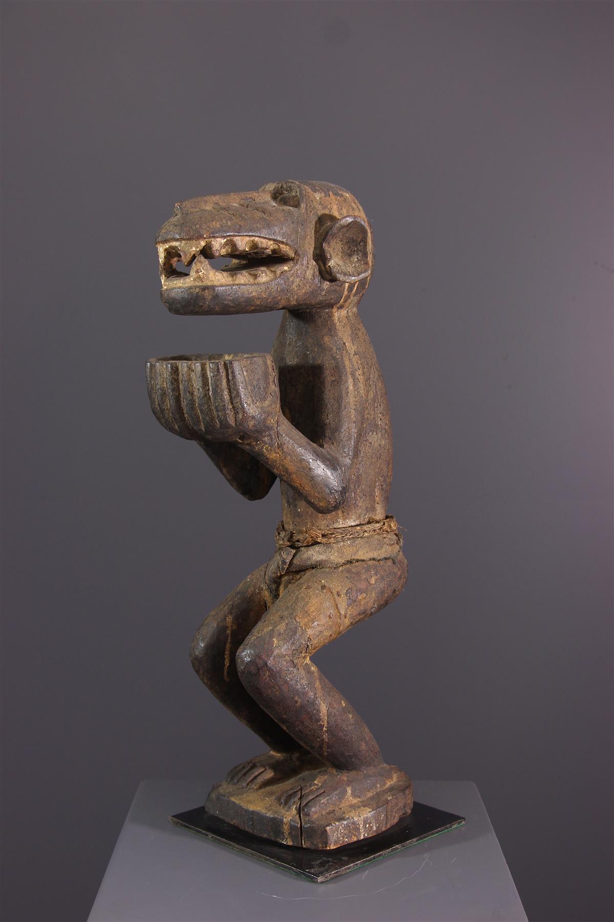 Singe Baoule - Art tribal