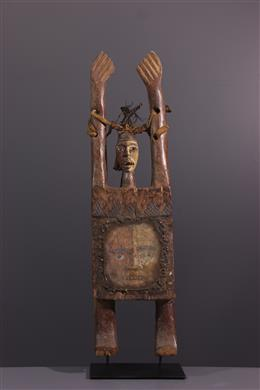 Art tribal - Figure anthropomorphe Kongo Nkisi