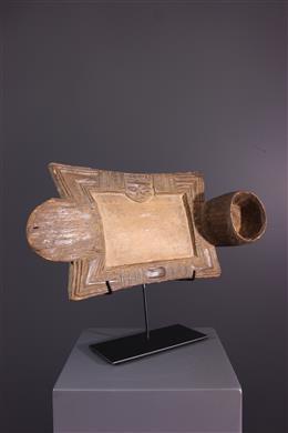 Art tribal - Plateau de divination Yoruba Onigunmerin