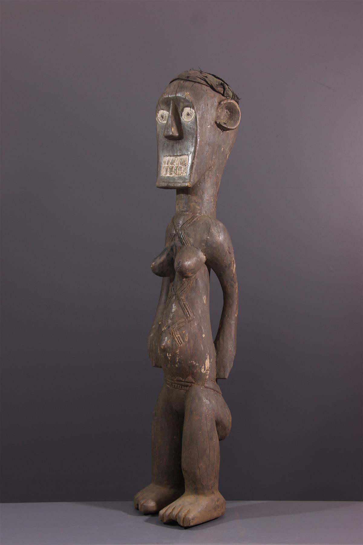 Statue Bafo - Art tribal