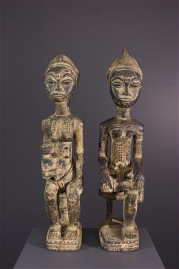 Couple de Baoule Waka sona Blolo bia