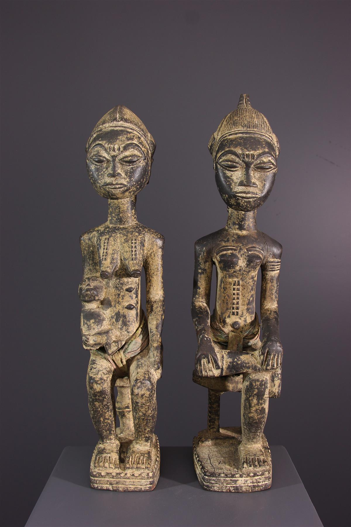 Statue Baule - Art tribal