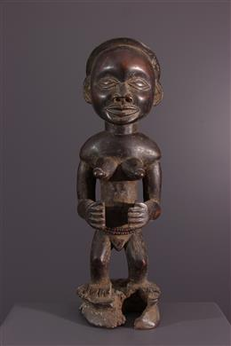 Statue Tschokwe - Art tribal