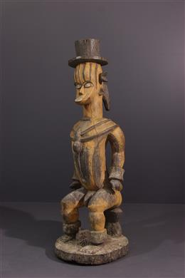 Art tribal - Figure de divinité Urhobo