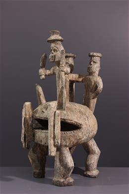 Art tribal - Figure de sanctuaire Igala