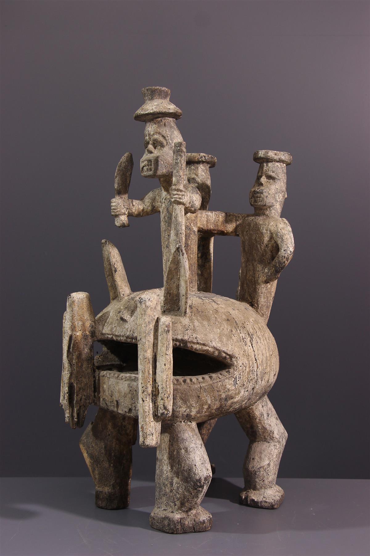 Statue Igala - Art tribal