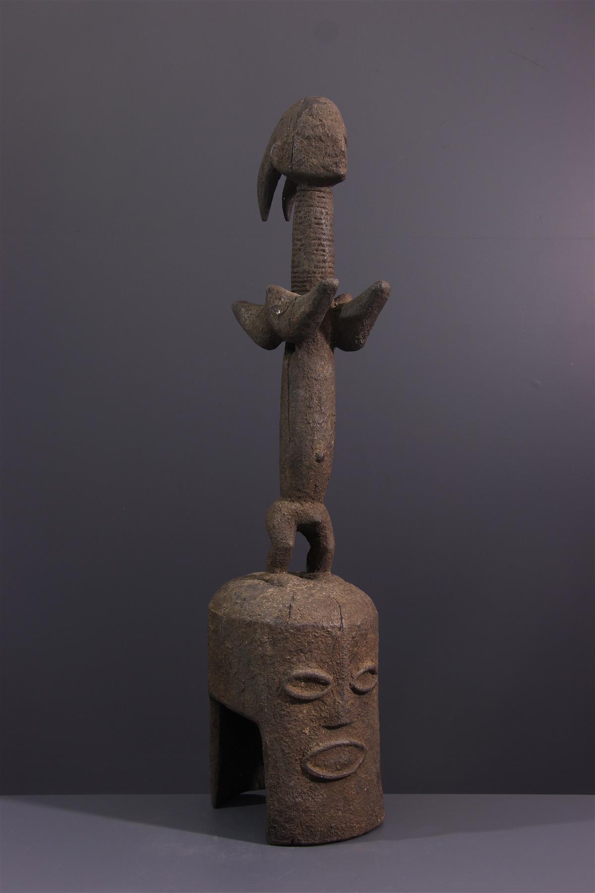 Masque Kaka - Art tribal