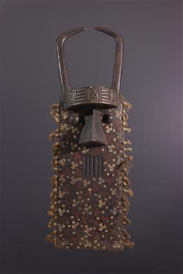 Art tribal - Masque planche Toma Bakrogui