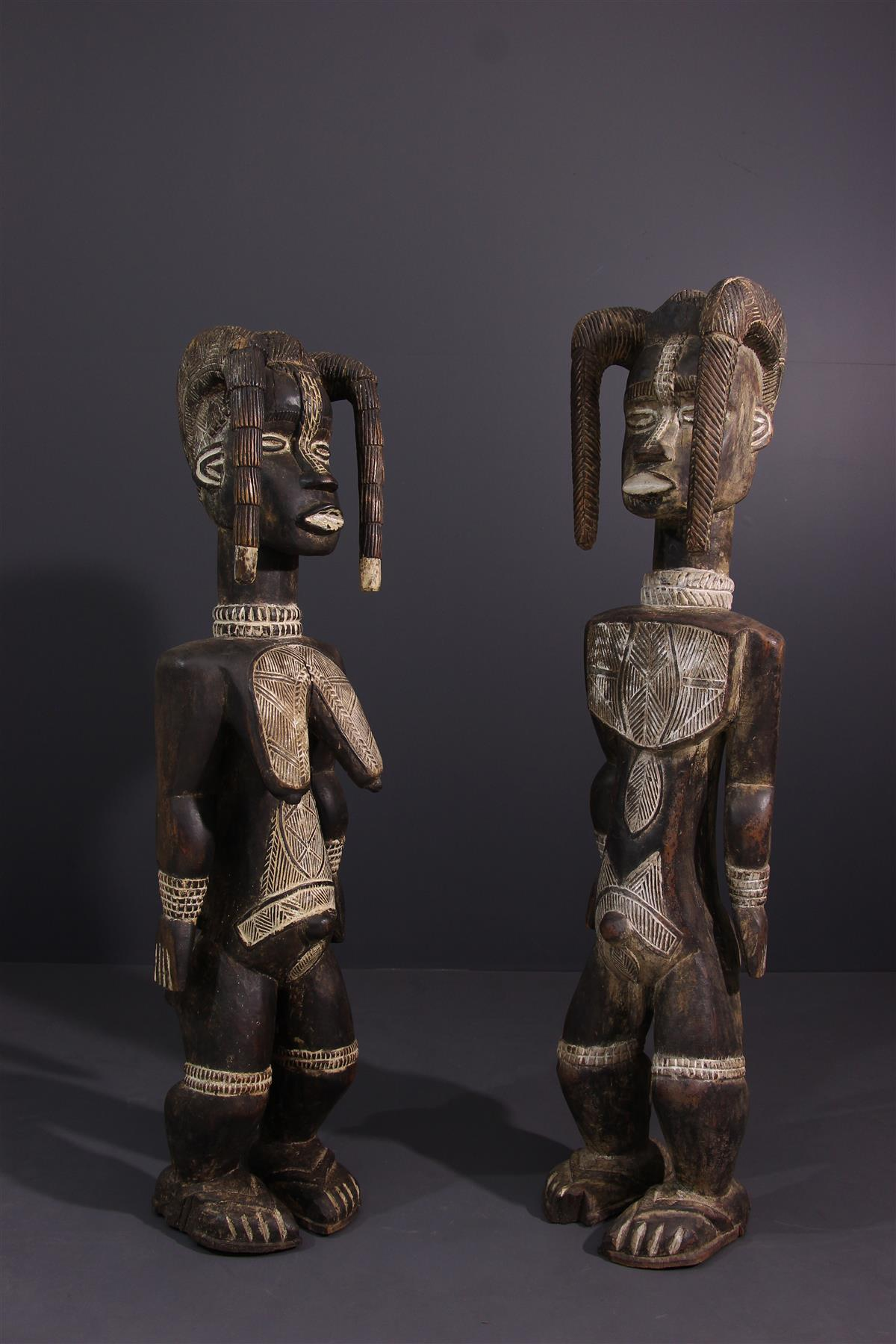 Statues Dan - Art tribal