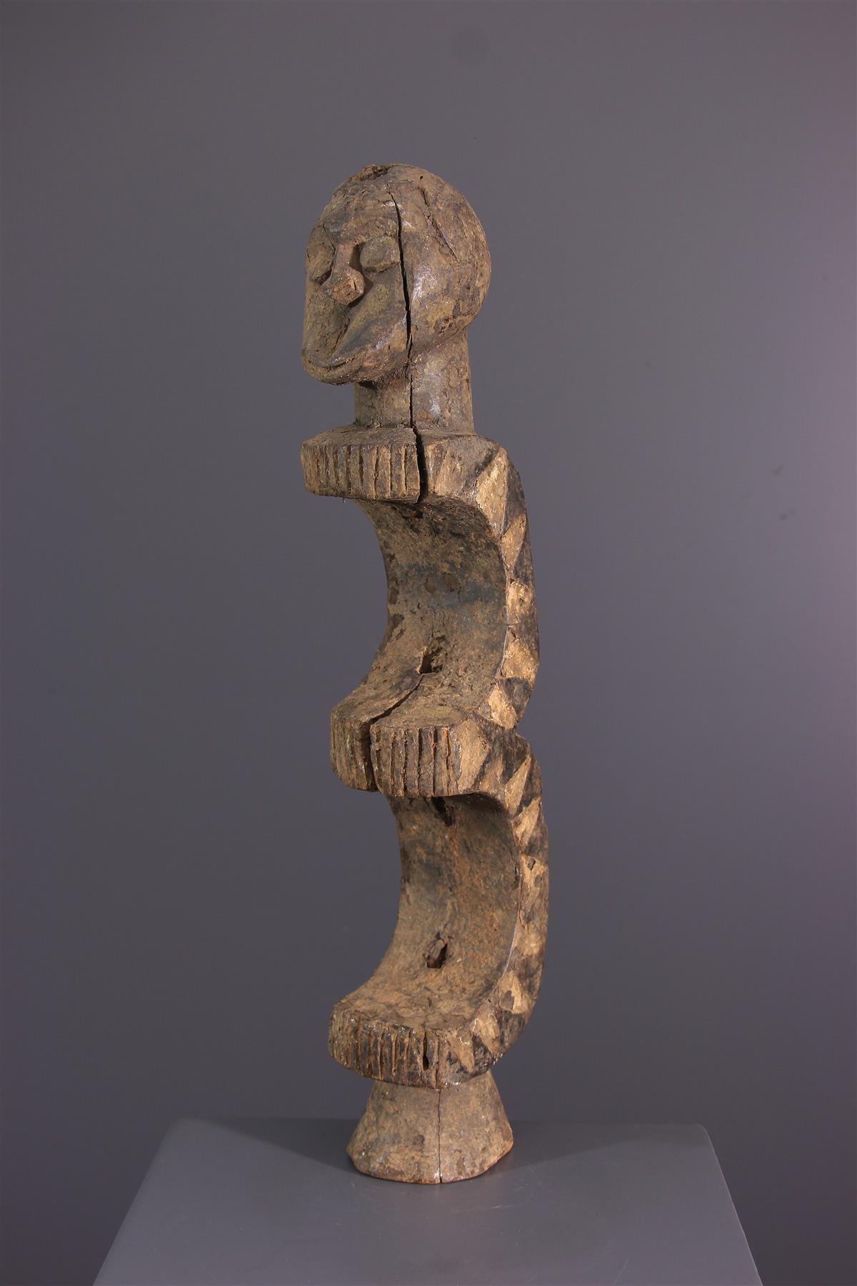 Statue Eket  - Art tribal