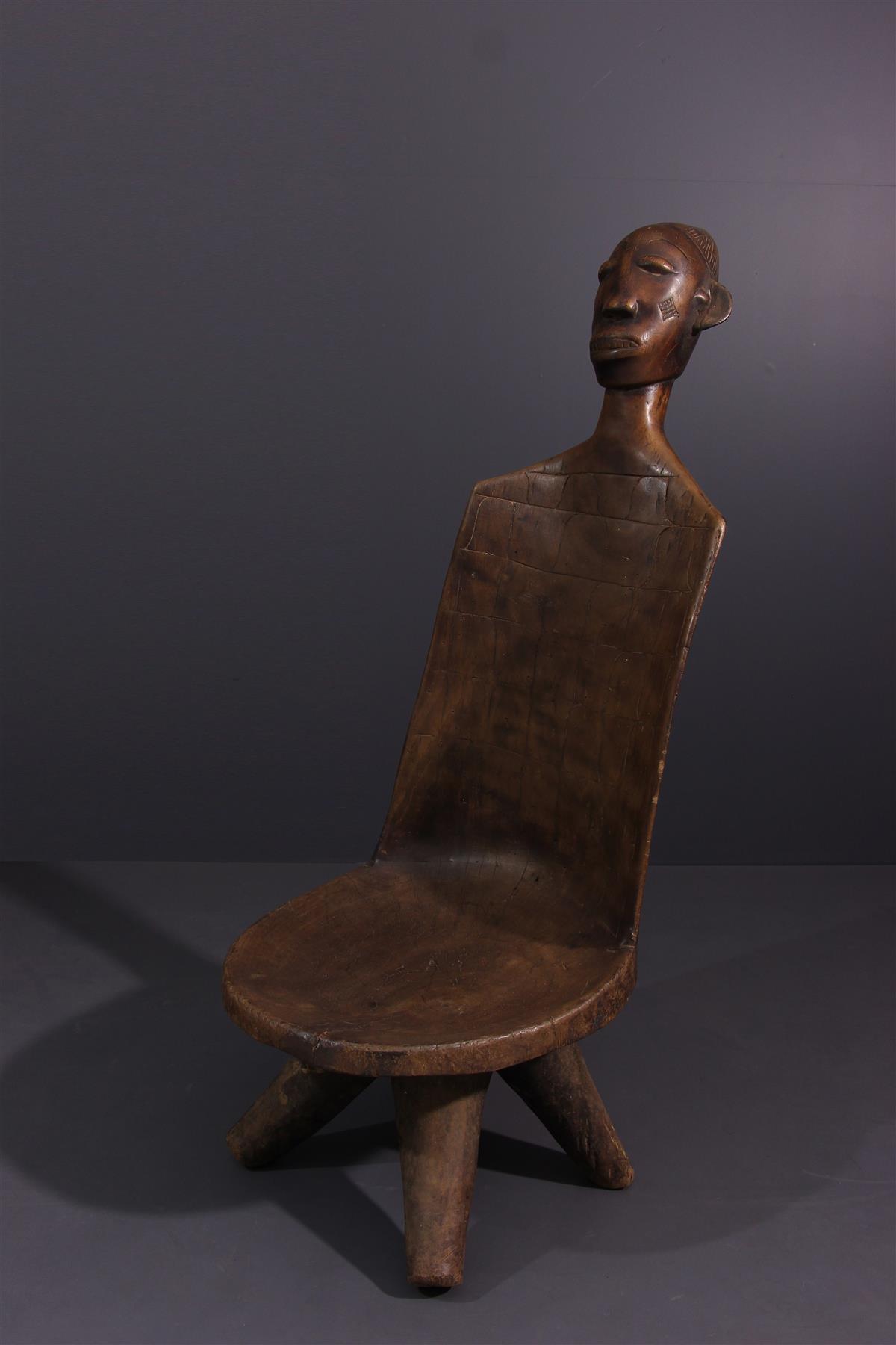 Siège Mangbetu - Art tribal
