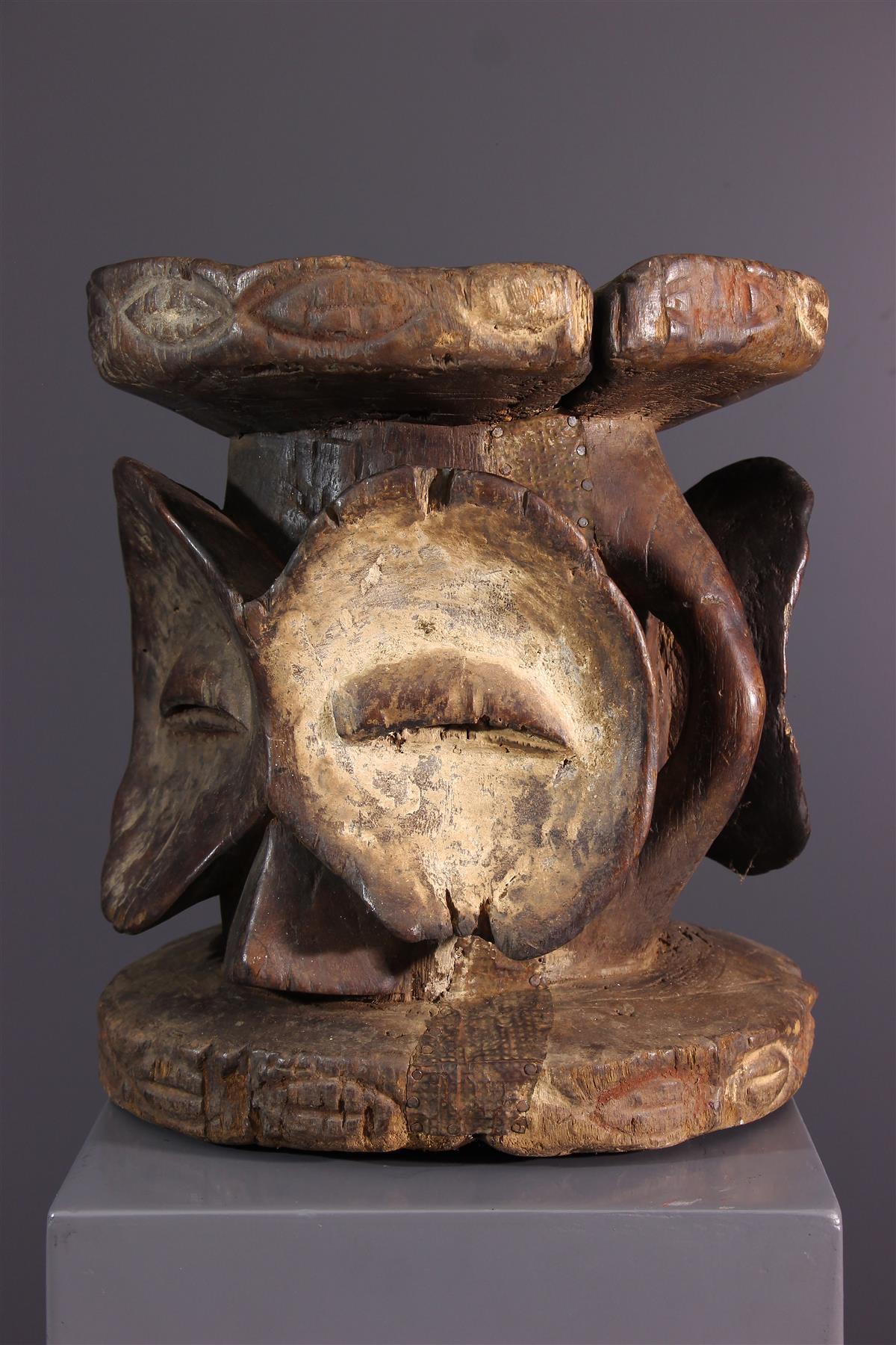 Siège Bembe - Art tribal