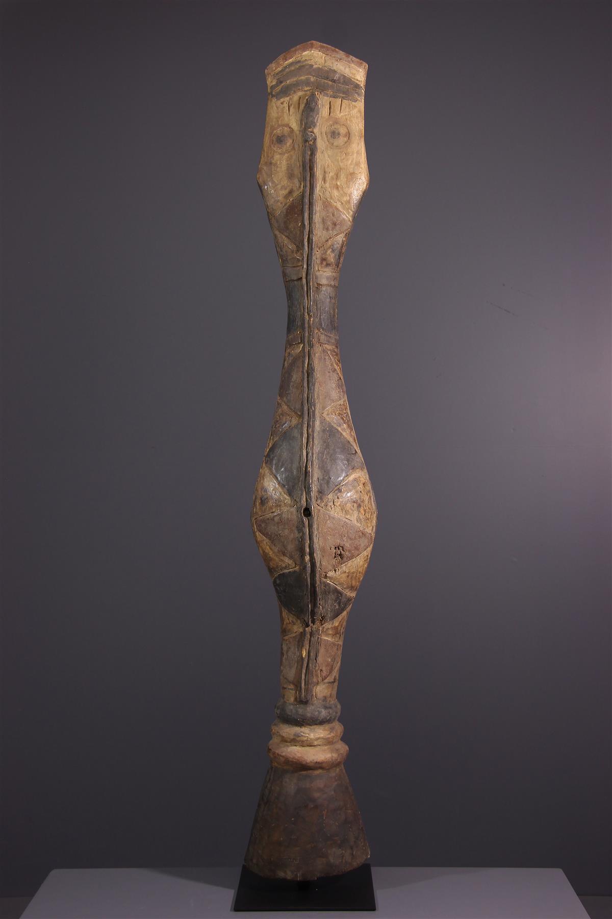 Serpent Baga - Art tribal