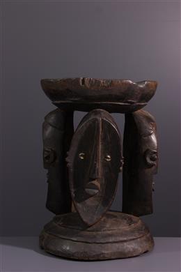 Siège Lualua - Art tribal