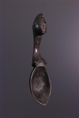 Cuillère rituelle Baoulé