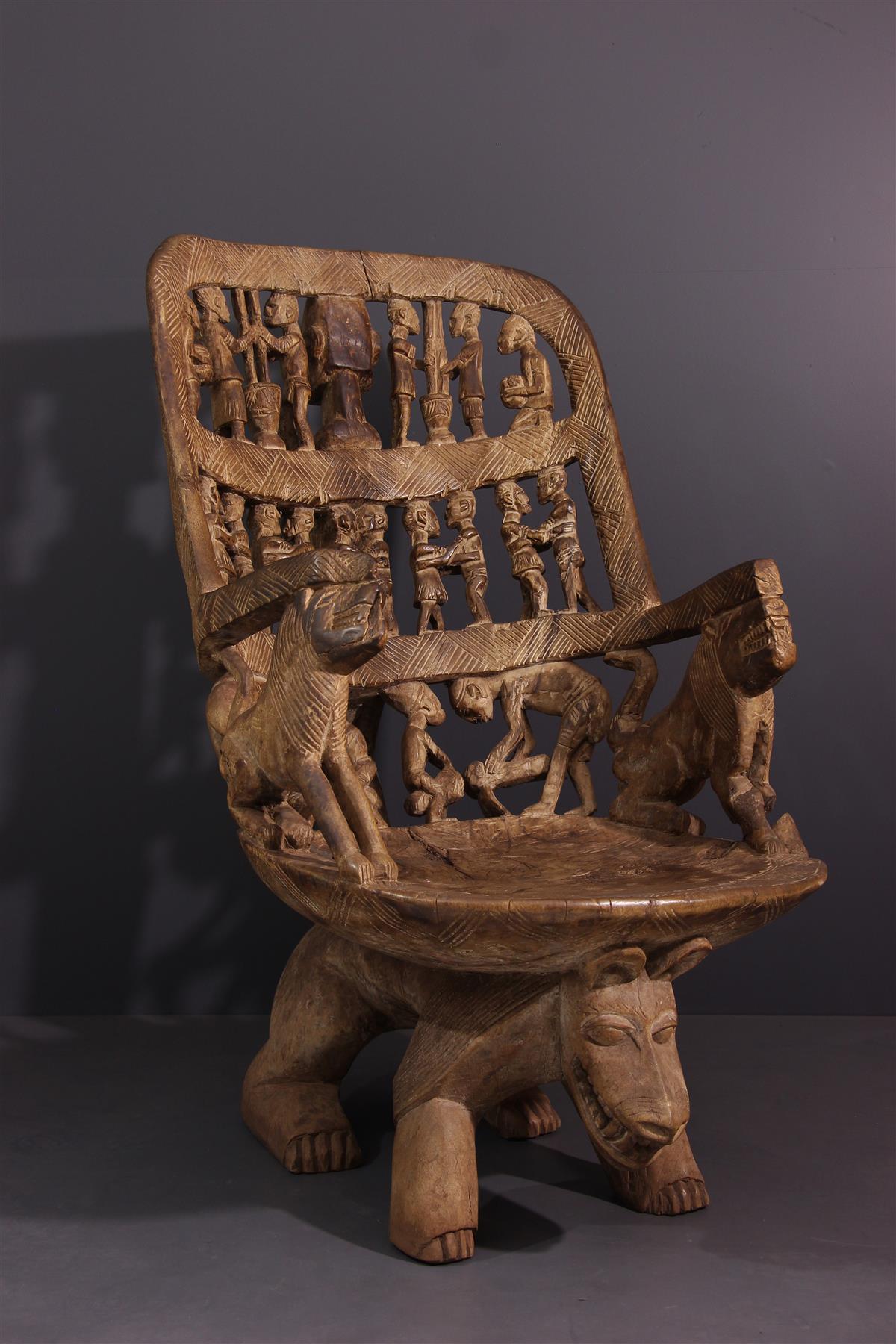 Siège Dogon - Art tribal