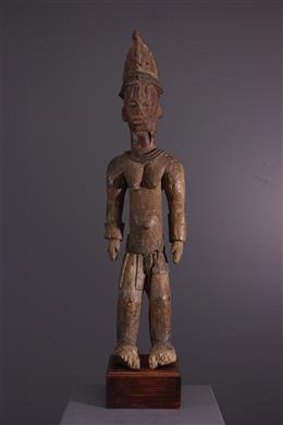 Art tribal - Figure dautel Urhobo Edjo