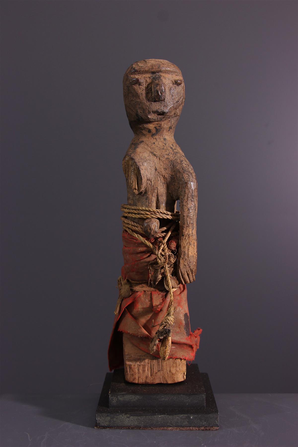 Statuette Fon - Art tribal