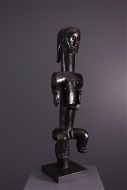 Art tribal - Statue gardienne de reliquaire Eyema Byeri Fang