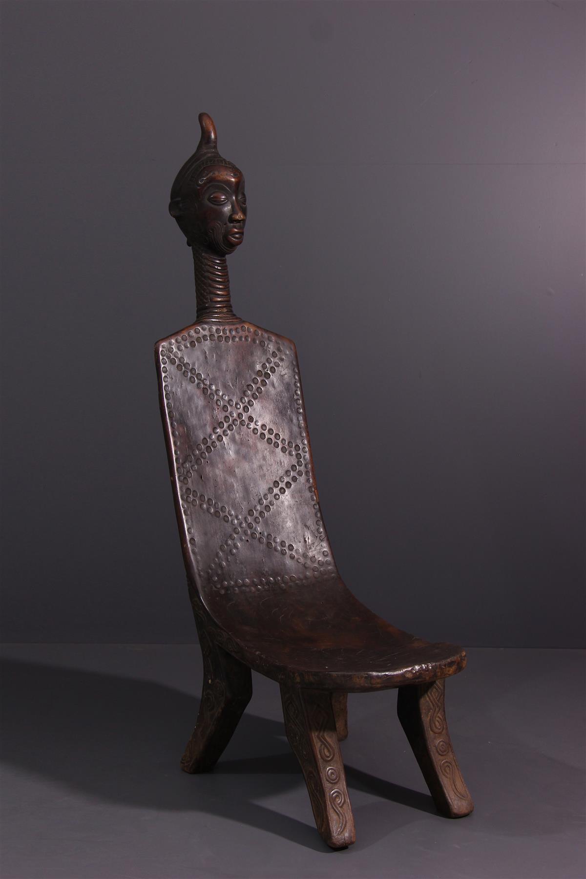 Chaise Luluwa - Art tribal