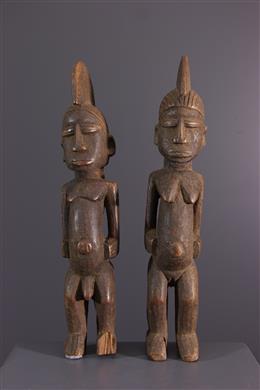 Statuettes Lobi - Art tribal