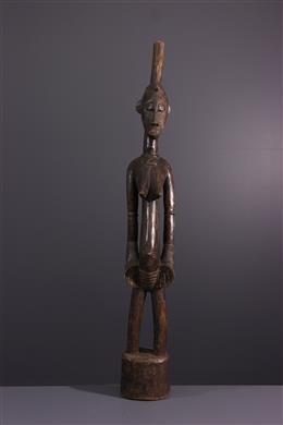 Art tribal - Statue pilon Deblé Senoufo