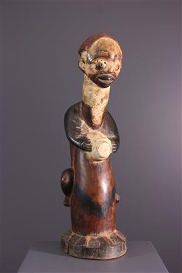 Art tribal - Statue Nkanu tambourinaire