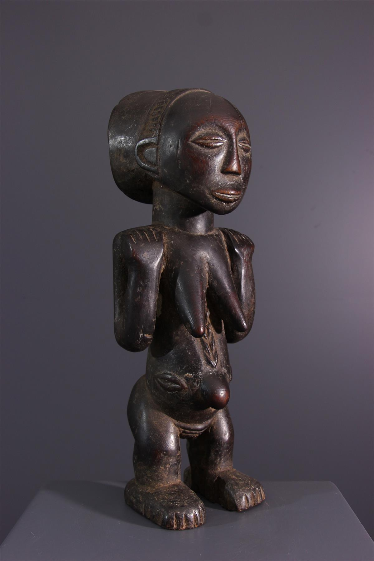 Statuette Luba - Art tribal