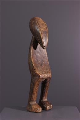 Art tribal - Statuette dinitiation Lega du Bwami