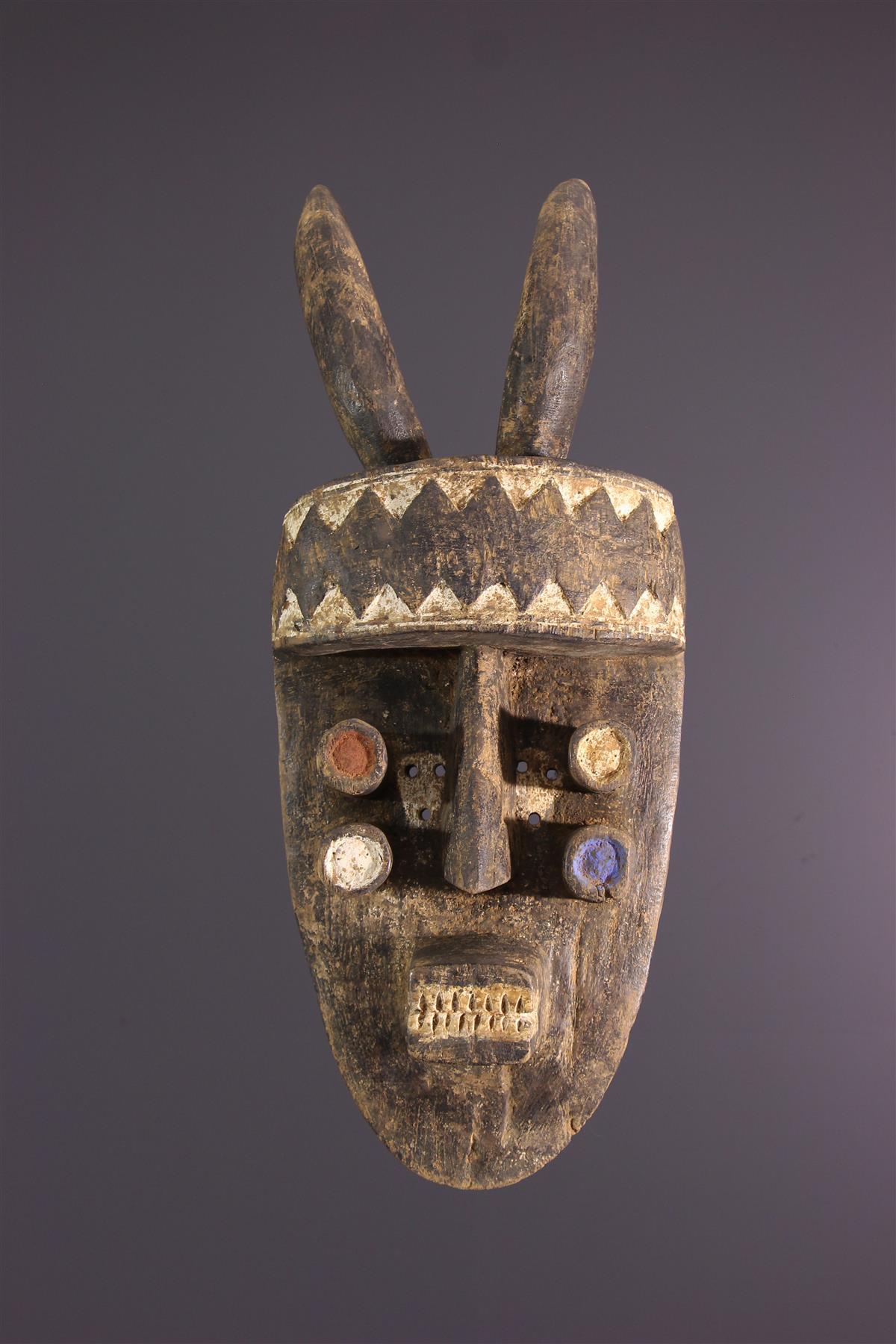 Masque Grebo - Art tribal
