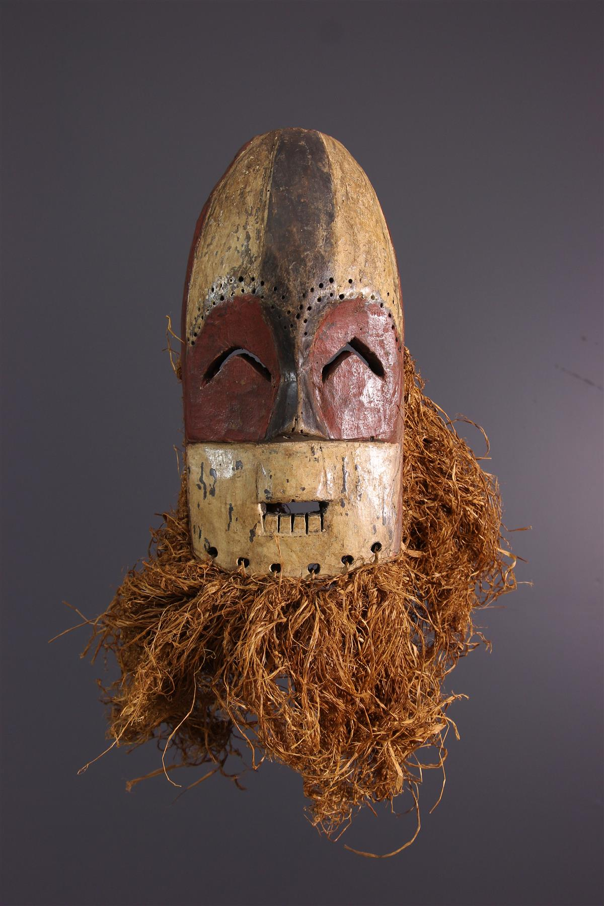 Masque Mbole - Art tribal
