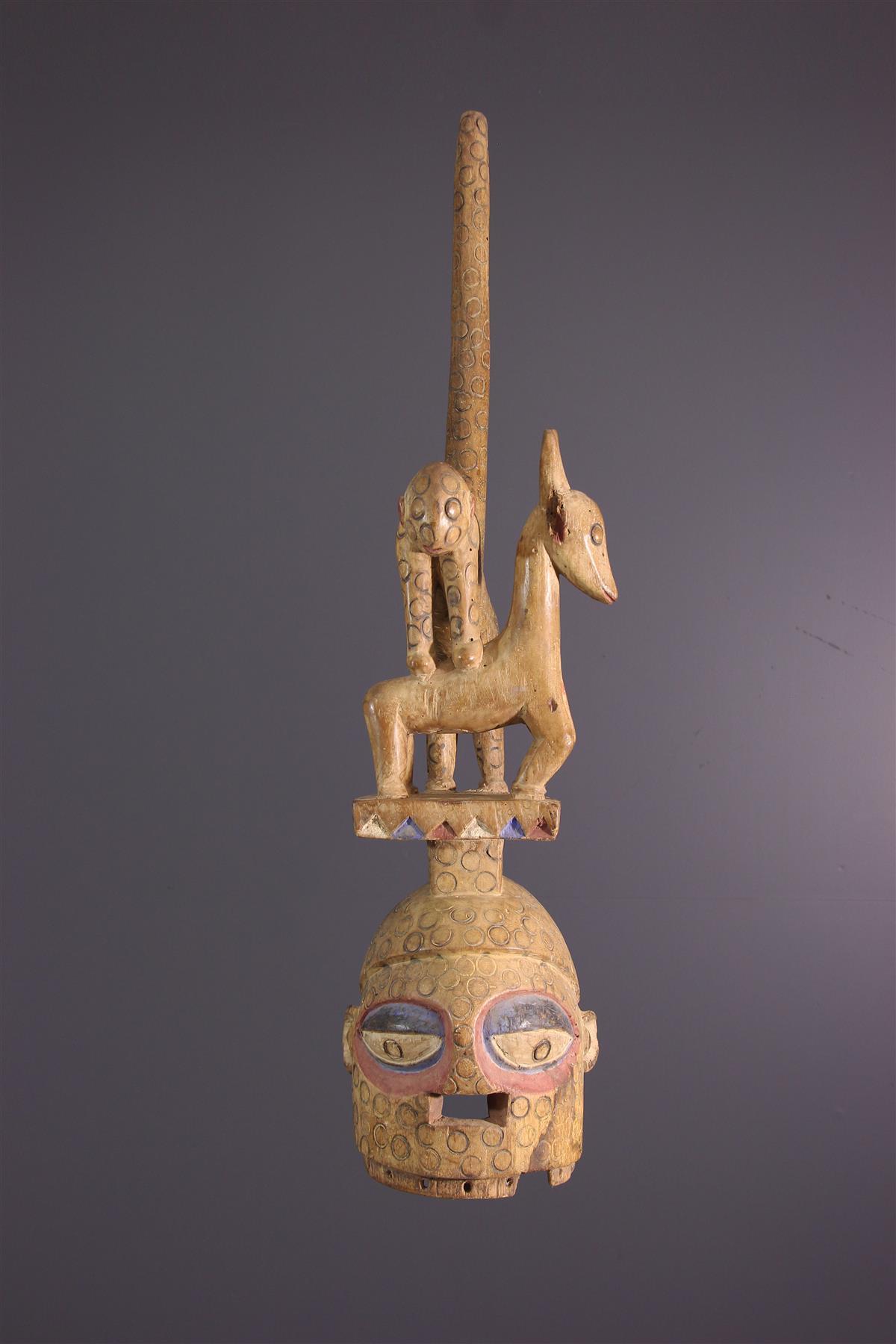 Masque Ekiti - Art tribal
