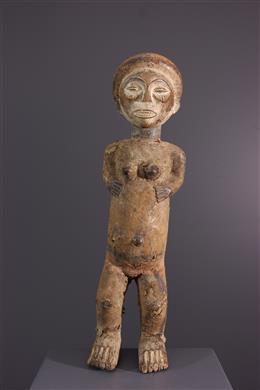 Art tribal - Figure dautel Chokwe / Lwena