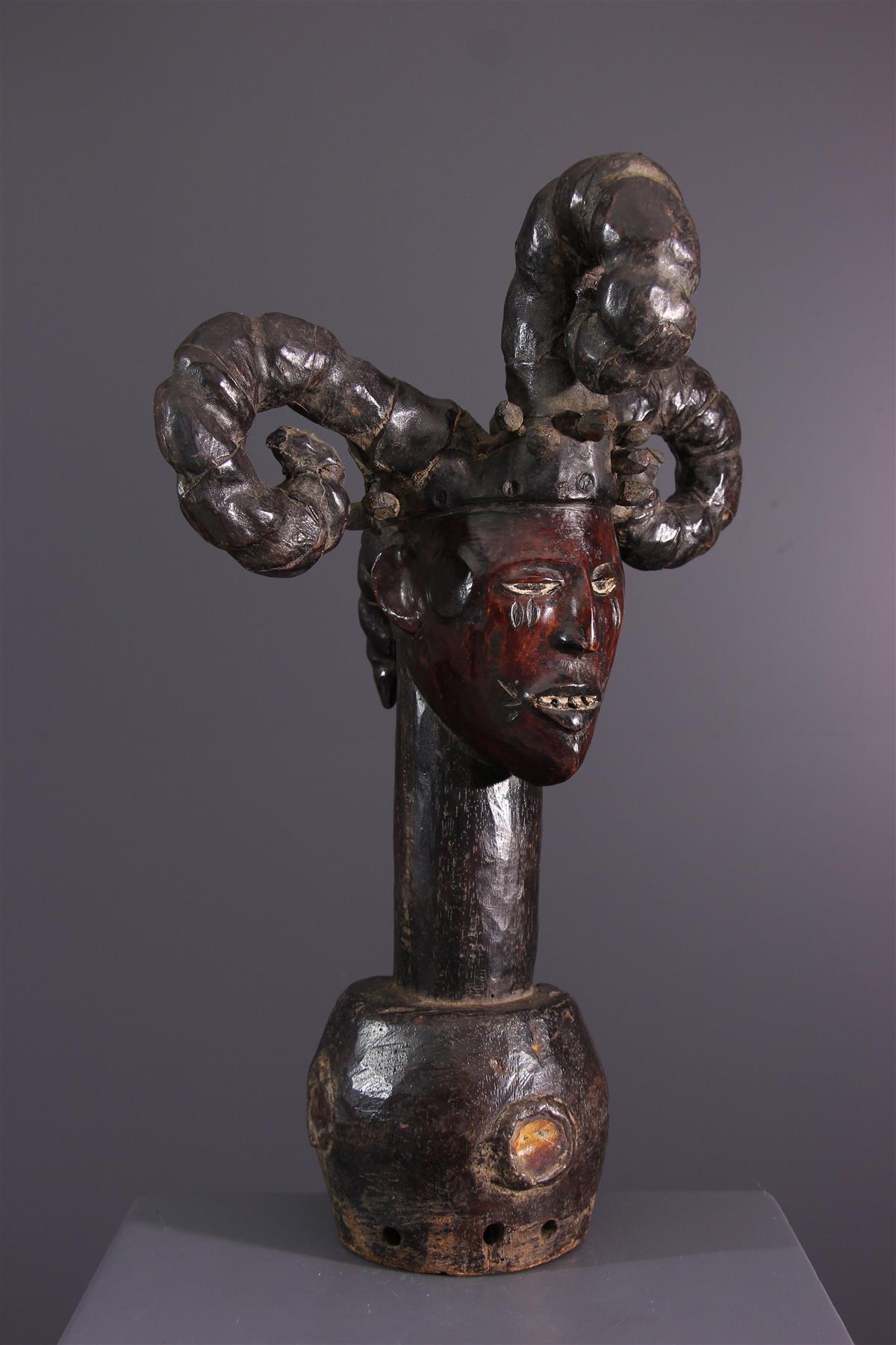 Cimier Ekoi - Art tribal