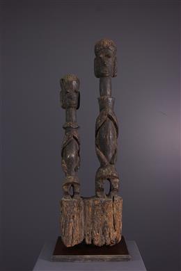 Art tribal - Couple de figures Chamba